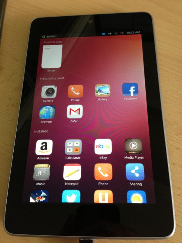 Ubuntu auf dem Nexus 7